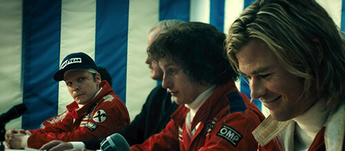 Rush Daniel Bruhl Chris Hemsworth