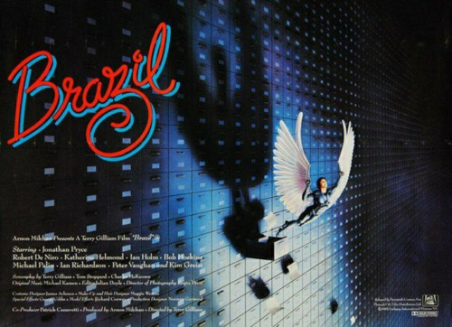 Terry Gilliam Brazil Poster