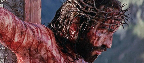Passion of Christ Death Scene