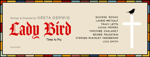 Lady Bird Movie 2018 Poster