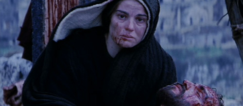 Passion of the Christ Screengrab of Death