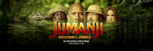 Jumanji 2 Banner