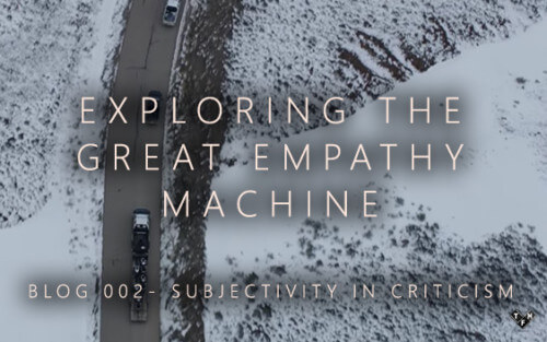 Exploring the Great Empathy Machine Part 2