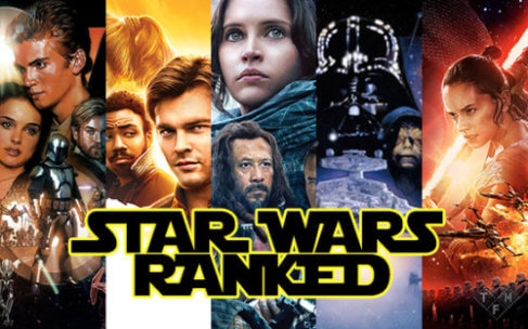 Star Wars Live-Action Movies Ranked