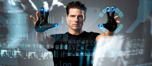 Minority Report Computer Display