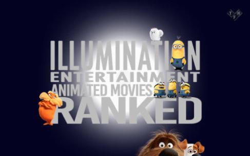 Illumination Entertainment Animated Movies Ranked