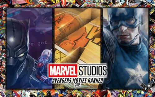 Marvel Cinematic Universe Movies Ranked | The Film Magazine