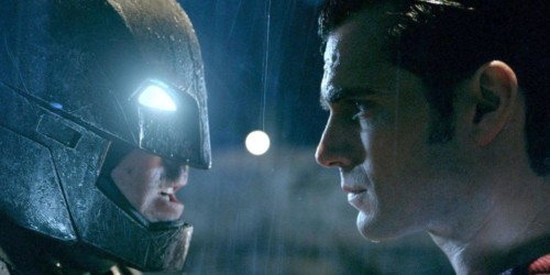 Batman v Superman Affleck Cavill
