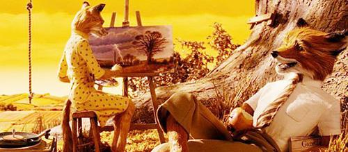 Wes Anderson Fox Stop-mo
