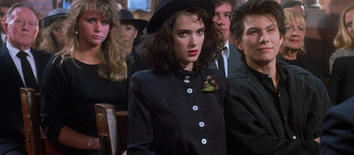 Winona Ryder Heathers Funeral