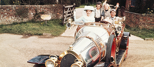 Chitty Movie Musical Car