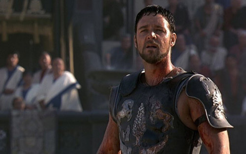 Russell Crowe Gladiator 2000