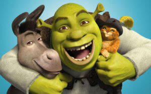 Shrek Puss In Boots Movies