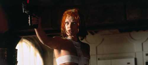 Mila Jovovich Fifth Element