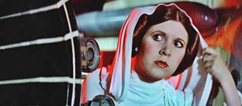 carrie fisher leia organa