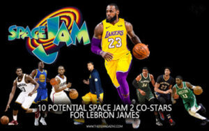 LeBron James Space Jam