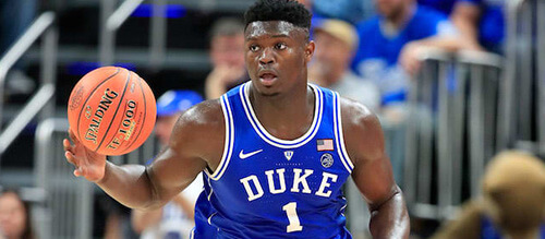 Zion Williamson Basketball
