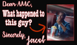 AMC, What Happened to the Guy Throwing His Popcorn?