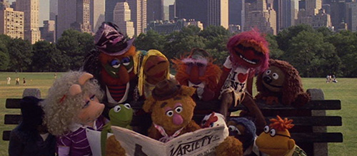 Muppets in New York