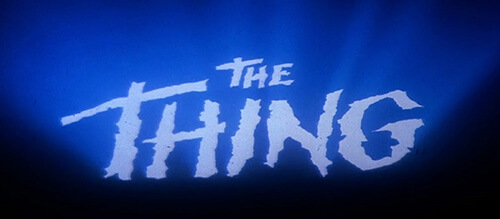 John Carpenter The Thing
