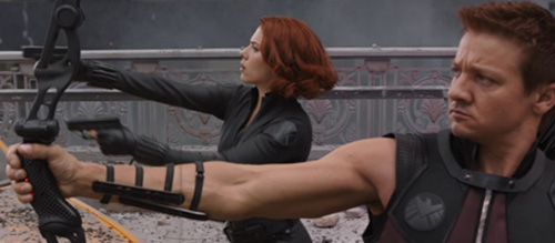 Scarlett Johansson Jeremy Renner