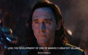 Tom Hiddleston Loki Character