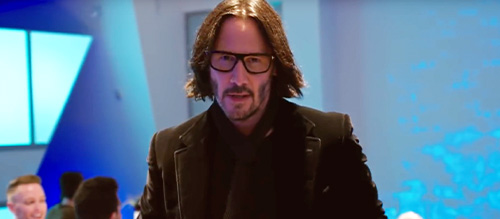 Keanu Reeves as Keanu Reeves