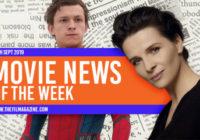 Spider-Man Back in MCU, New 'The Batman' Cast Members, Binoche Honoured With Award, More