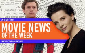 Movie News 29th Sept 2019