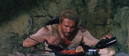Trinity Eating Beans
