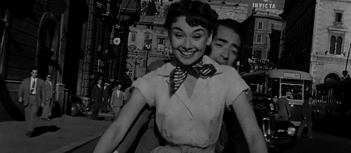 Hepburn Peck Roman Holiday
