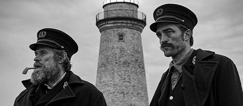 Willem Dafoe Robert Pattinson Lighthouse