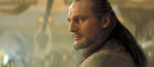 Liam Neeson Phantom Menace