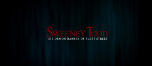 Sweeney Todd Tim Burton