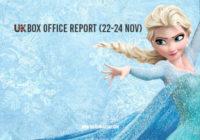 Frozen II Debuts – UK Box Office Roundup 22-24th Nov 2019