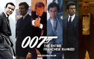 007 Bond Films Best Worst