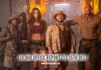 Jumanji 2 vs Frozen 2 – UK Box Office Report 13-15th Dec 2019