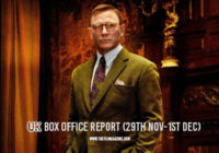 Knives Out at UK Box Office – Roundup 29th Nov-1st Dec 2019
