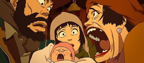 Tokyo Godfathers Animation Still