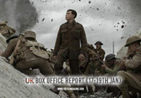 1917 Is New Number 1 – UK Box Office Report 17-19th Jan 2020