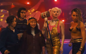 Birds of Prey Riot Grrrls