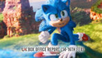 'Sonic' Has Highest Video Game Adaptation Opening Ever! – UK Box Office Report 14-16th Feb 2020